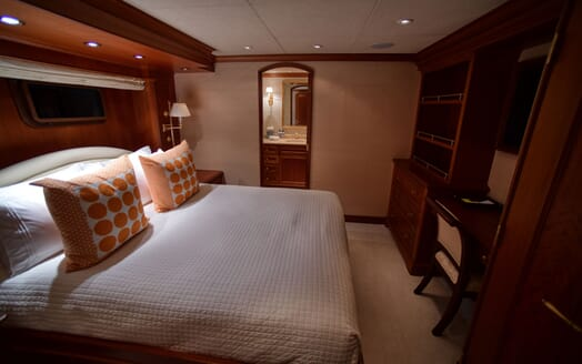 Motor Yacht T-ZERO VIP Guest Double Stateroom