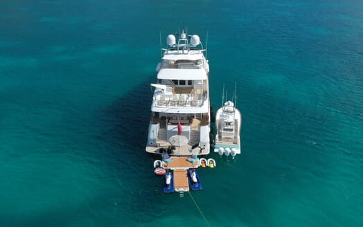 Motor Yacht T-ZERO Exterior Aft with Toys