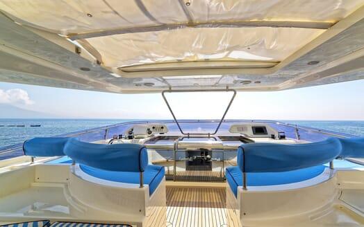 Motor Yacht Anne Marie sundeck