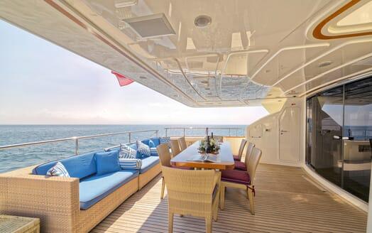 Motor Yacht Anne Marie deck