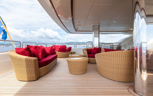 Motor Yacht Panakeia main deck