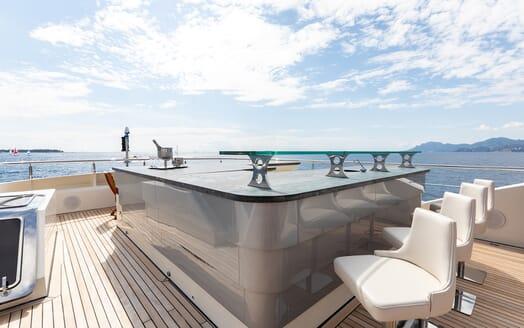 Motor Yacht Panakeia sun deck