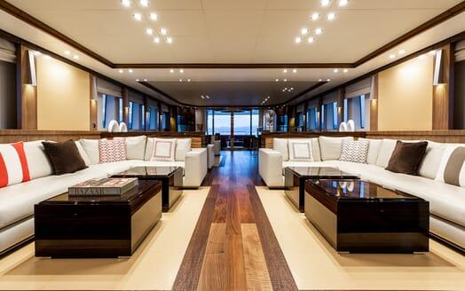Motor Yacht Panakeia interior design