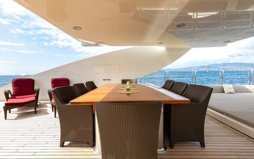 Motor Yacht Panakeia flydeck