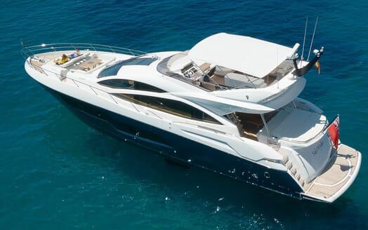 Motor Yacht Seawater aerial