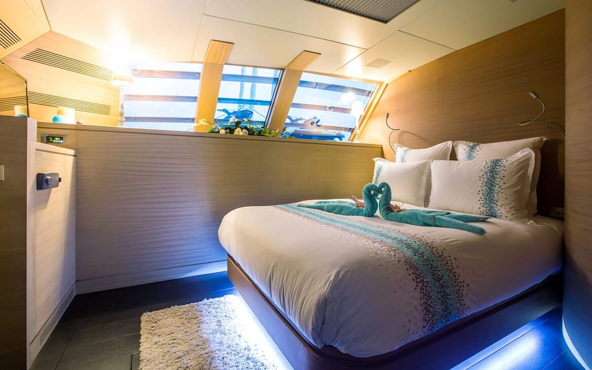 Sailing Yacht HUTIANE Master Stateroom