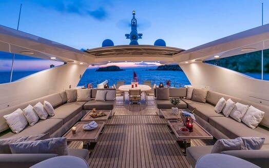 Motor Yacht Rini main deck