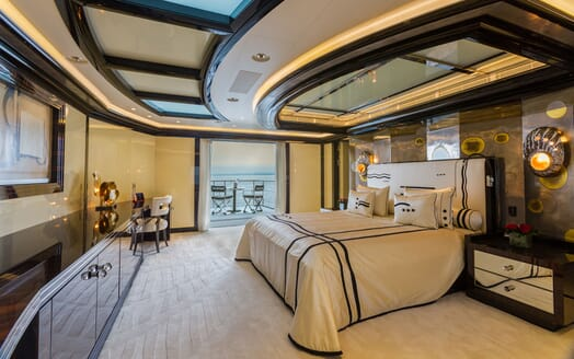 Motor Yacht OKTO Guest Double Stateroom