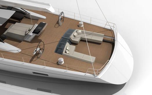 Sailing Yacht Dixon 46 aft shot