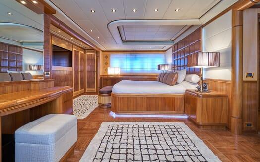 Motor Yacht SHANE Master Stateroom 2
