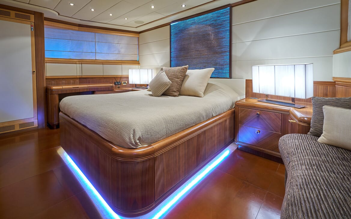 Motor Yacht SHANE Guest Double Stateroom