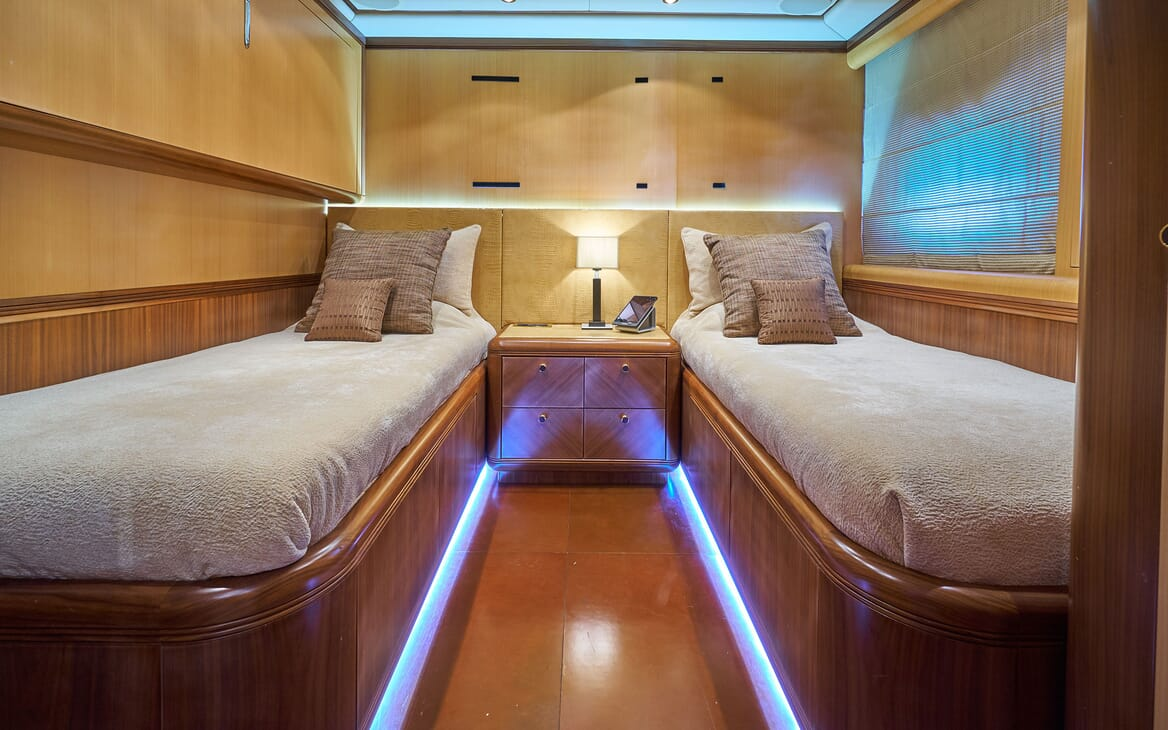 Motor Yacht SHANE Twin Guest Stateroom