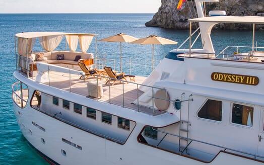 Motor Yacht ODYSSEY III Sun Deck