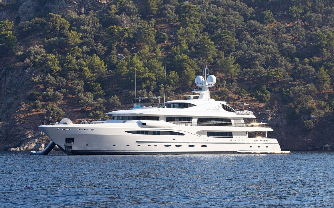 Motor Yacht SEA RHAPSODY Profile