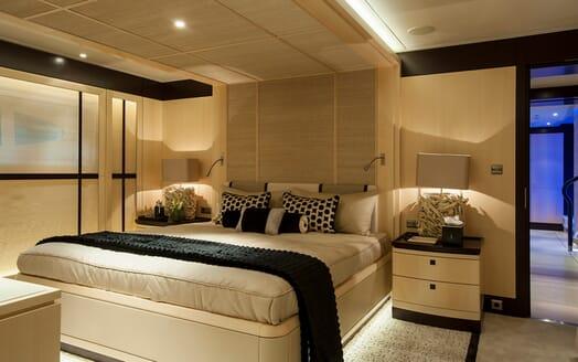 Motor Yacht SEA RHAPSODY Double Guest Stateroom