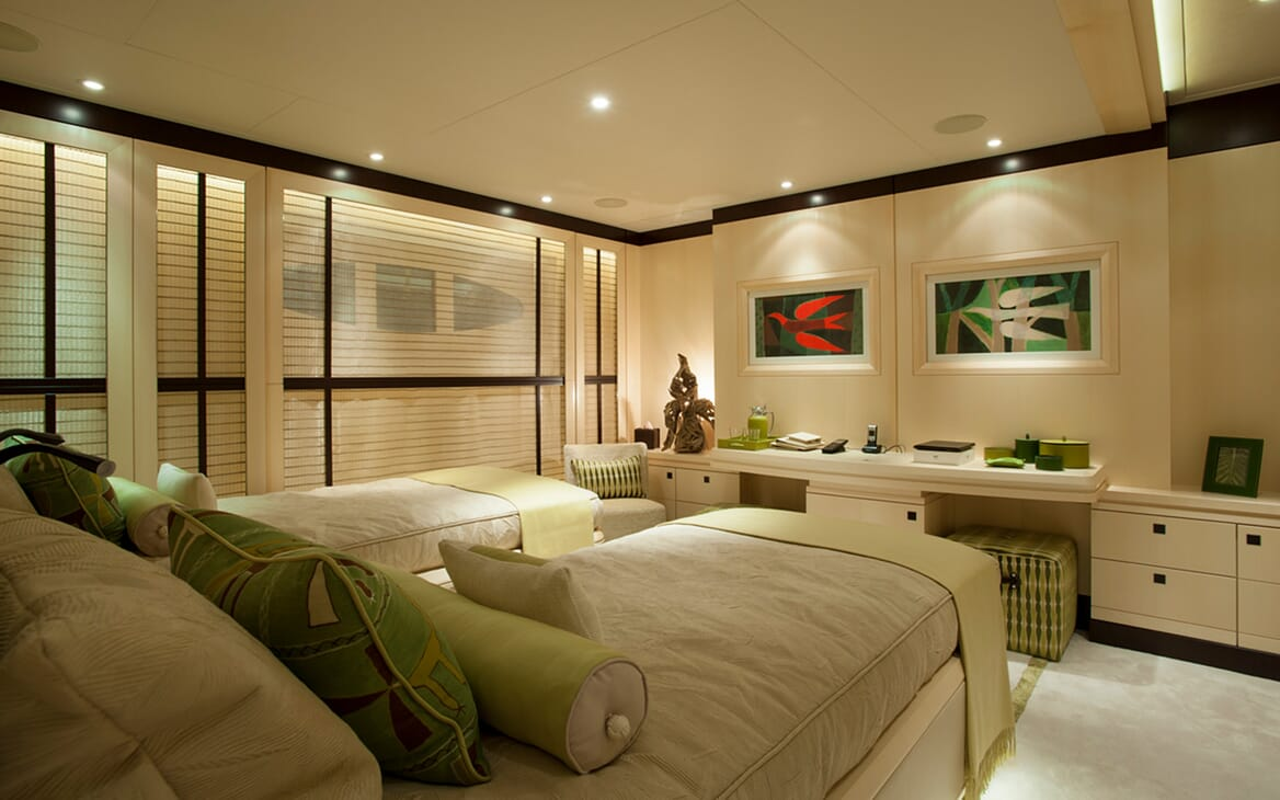 Motor Yacht SEA RHAPSODY Second Twin Guest Stateroom