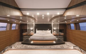 Motor Yacht Silver Fast Master Stateroom