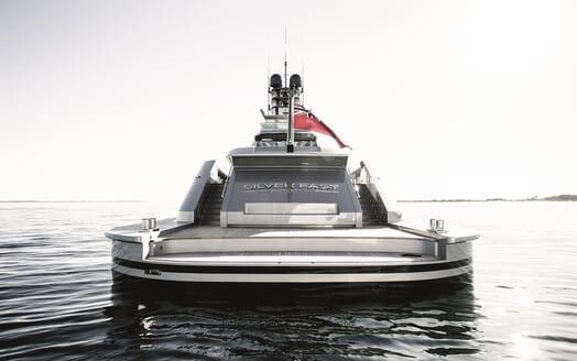 Motor Yacht Silver Fast Aft Deck