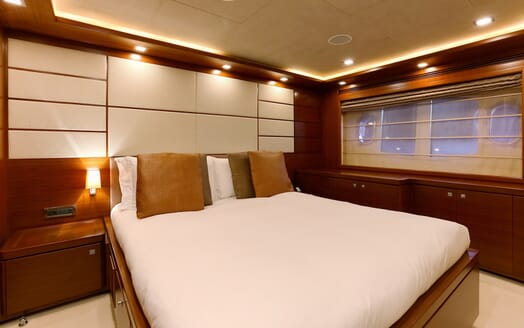 Motor Yacht Robusto Guest Double Stateroom