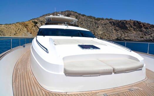 Motor Yacht Maestro of Gibraltar Bow Seating