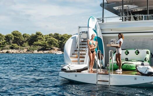 Motor Yacht Destiny toys