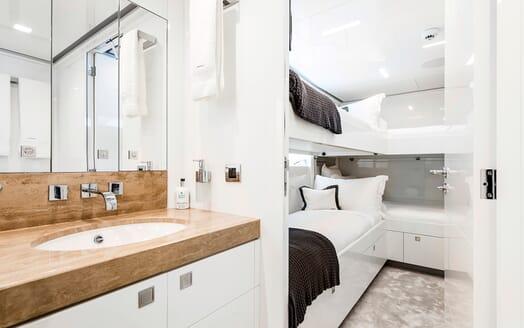 Motor Yacht Destiny interior design