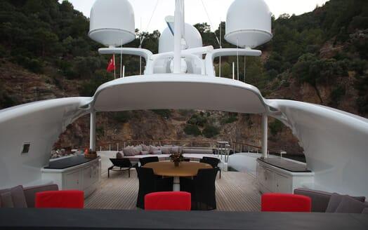 Motor Yacht LIBERTY Sun Deck