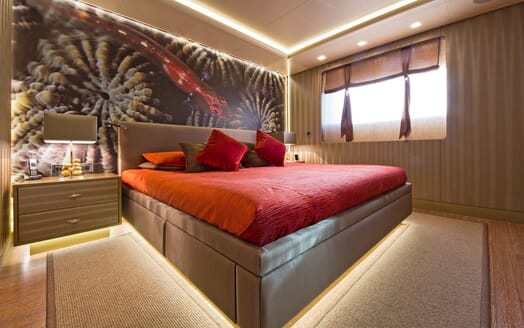 Motor Yacht LIBERTY Guest Double Stateroom