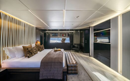Motor Yacht Giraud Master Stateroom