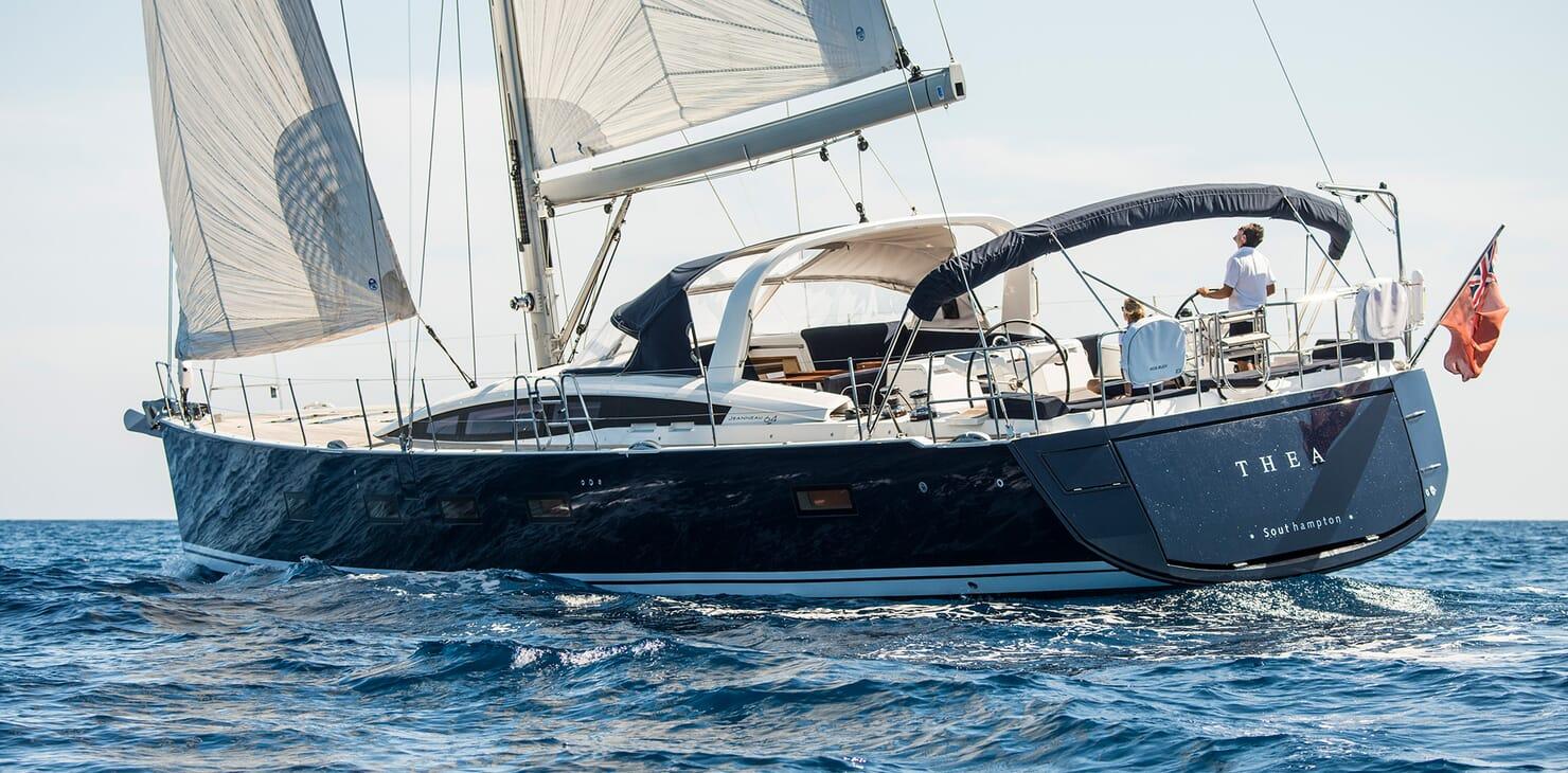 Sailing Yacht Thea cruising