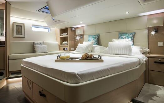 Sailing Yacht Thea master cabin