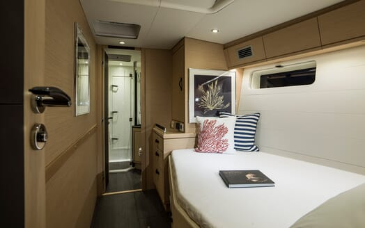 Sailing Yacht Thea guest cabin