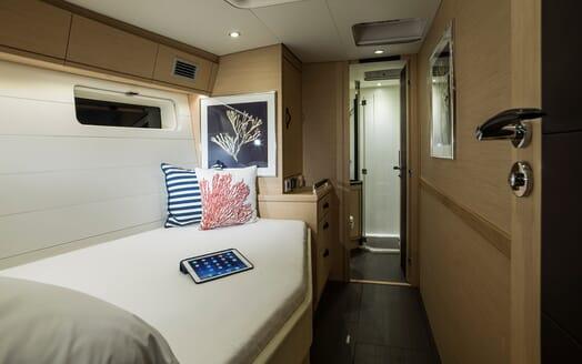 Sailing Yacht Thea VIP cabin