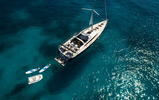 Sailing Yacht Thea aerial