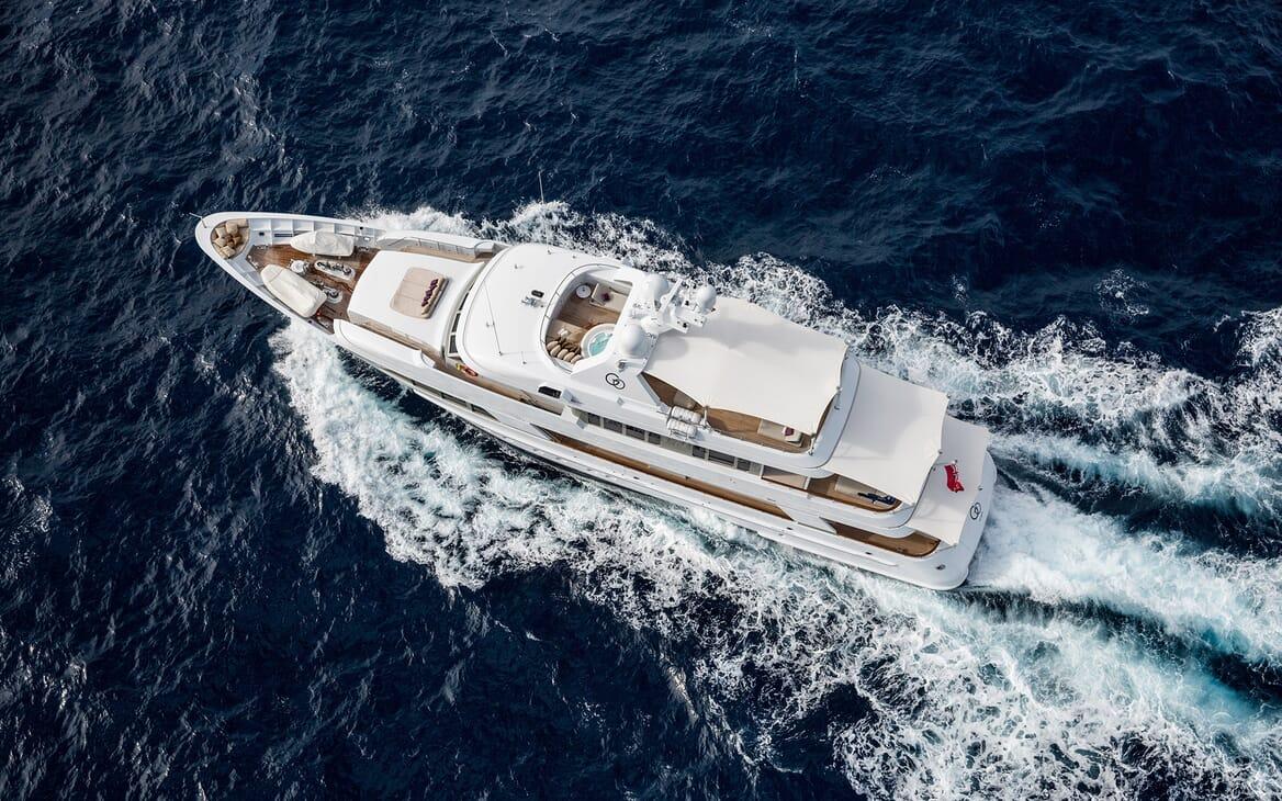Motor Yacht Go aerial