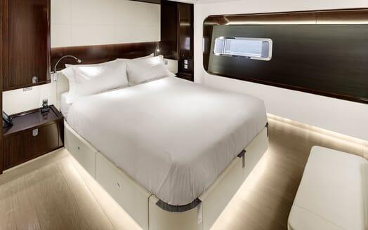 Sailing Yacht VERTIGO Master Stateroom