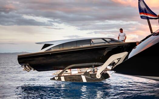 Sailing Yacht VERTIGO Tender