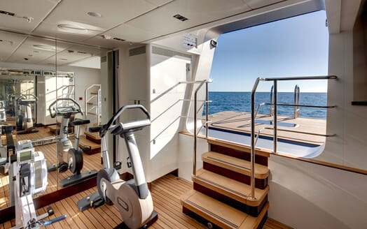 Sailing Yacht VERTIGO Gym