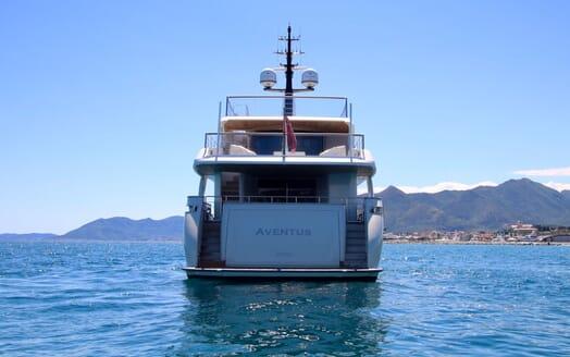 Motor Yacht Aventus Aft