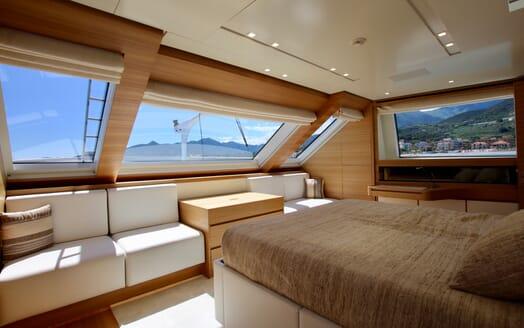 Motor Yacht Aventus Master Stateroom 2
