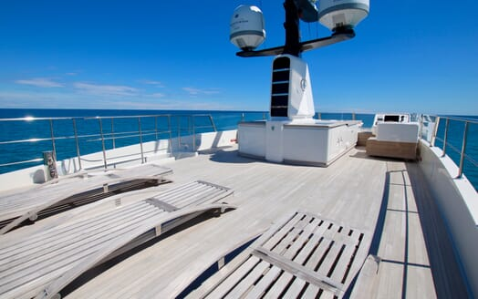 Motor Yacht Aventus Sun Deck