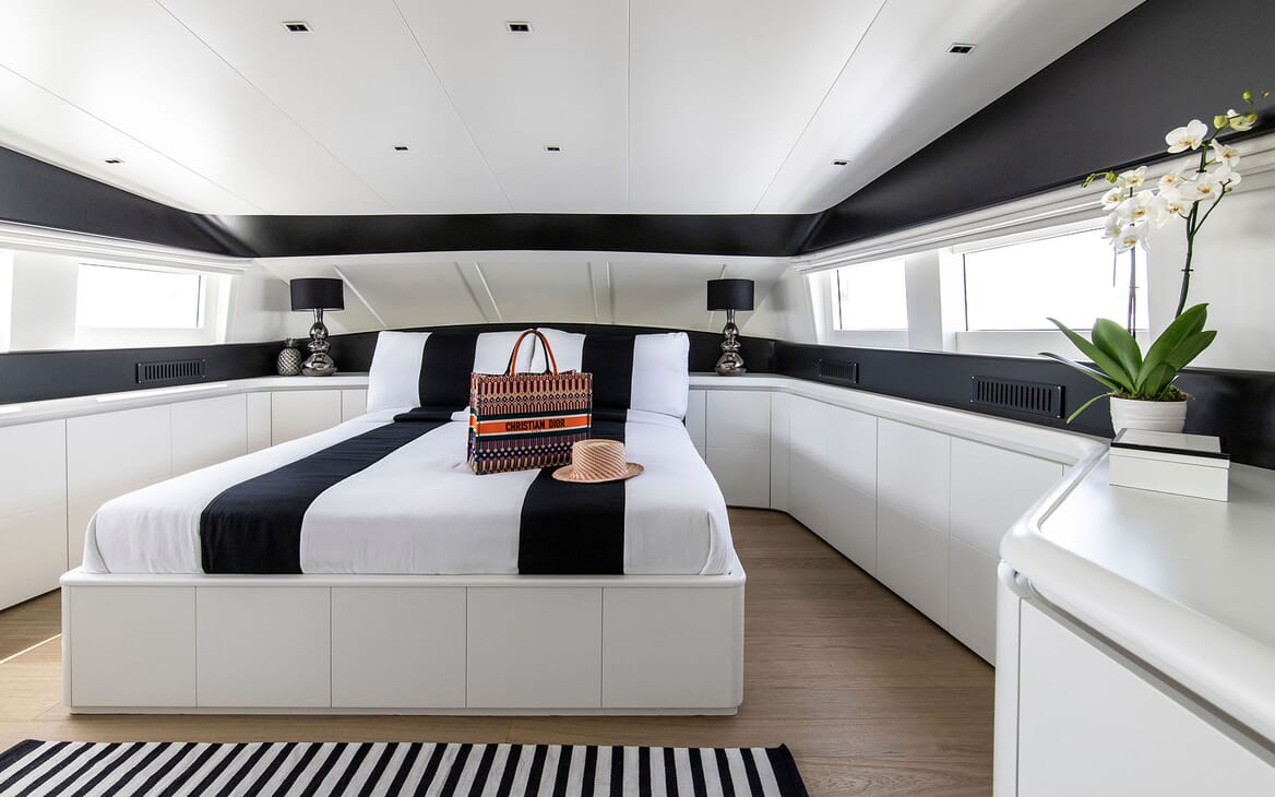 Motor Yacht PROJECT STEEL Master Stateroom