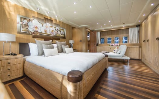 Motor Yacht JFF Master Stateroom