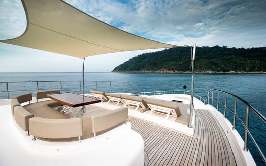 Motor Yacht Mykonos main deck
