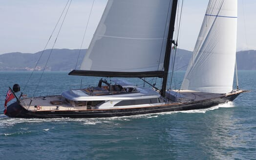 Sailing Yacht PERSEUS 3 Profile