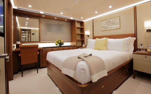 Sailing Yacht PERSEUS 3 Double Guest Stateroom