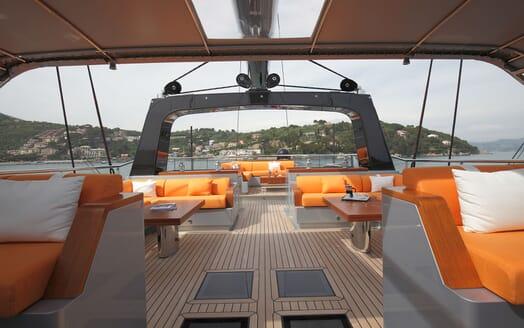 Sailing Yacht PERSEUS 3 Sun Deck