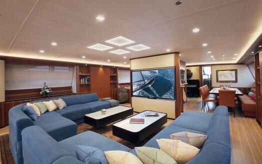 Sailing Yacht PERSEUS 3 Main Saloon 2