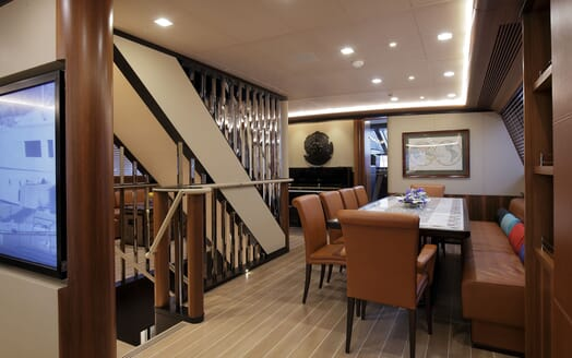 Sailing Yacht PERSEUS 3 Dining Table 2