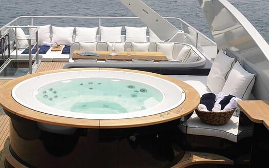 Motor Yacht Harun sundeck